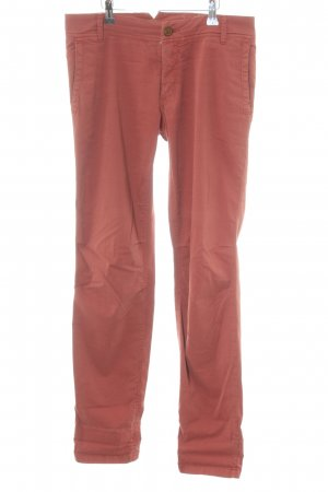 Rich & Royal Chinohose rostrot Casual-Look