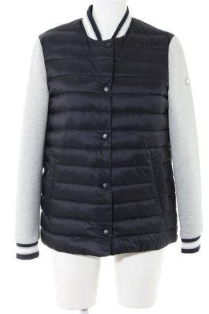 Rich & Royal Giacca college nero-grigio chiaro puntinato stile casual