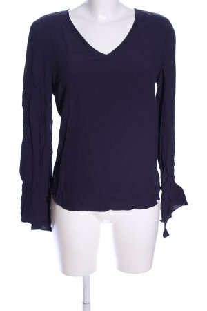 Rich & Royal Crash Blouse blue casual look