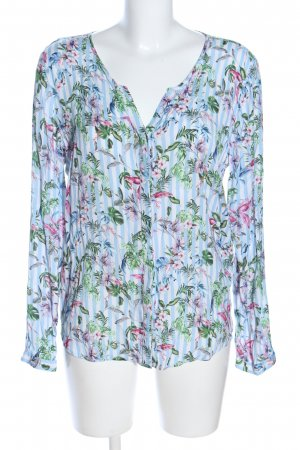 Rich & Royal Crash Blouse flower pattern casual look