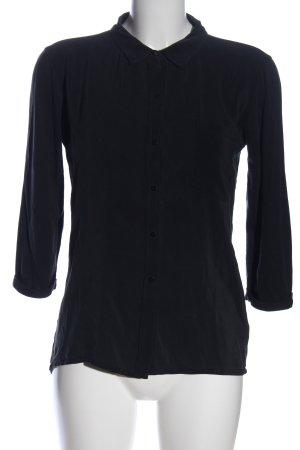 Rich & Royal Hemd-Bluse schwarz Casual-Look