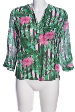 Rich & Royal Hemd-Bluse Blumenmuster Casual-Look