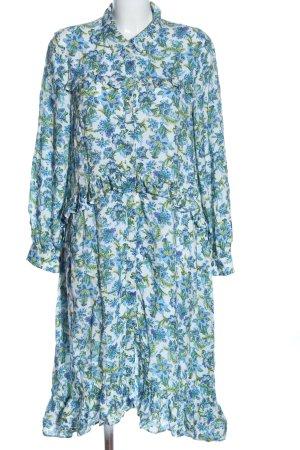 Rich & Royal Abito blusa camicia motivo floreale stile casual
