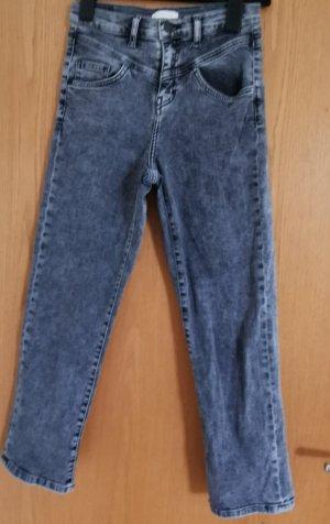 Rich & Royal Jeansy z prostymi nogawkami antracyt