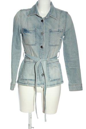 Rich & Royal Jeansjacke blau Casual-Look