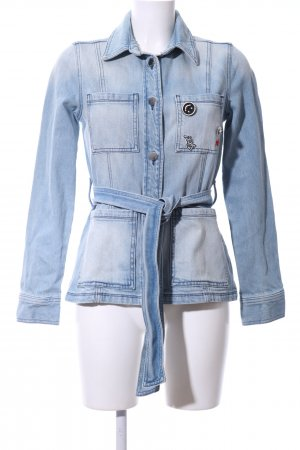 Rich & Royal Jeansjacke blau Casual-Look