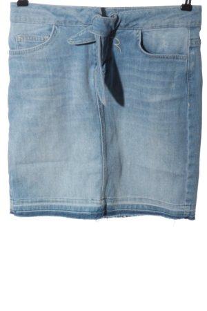 Rich & Royal Jeansrock blau Casual-Look