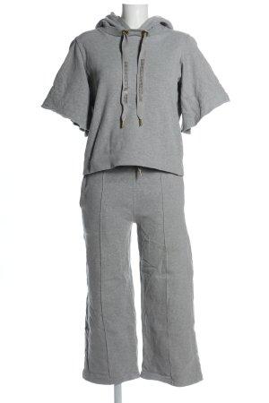 Rich & Royal Ensemble en jersey gris clair tissu mixte