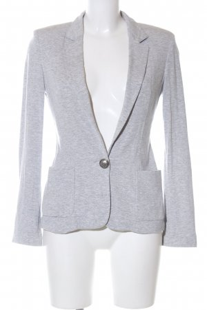 Rich & Royal Jerseyblazer hellgrau meliert Business-Look