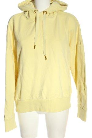 Rich & Royal Sweat à capuche jaune primevère style décontracté