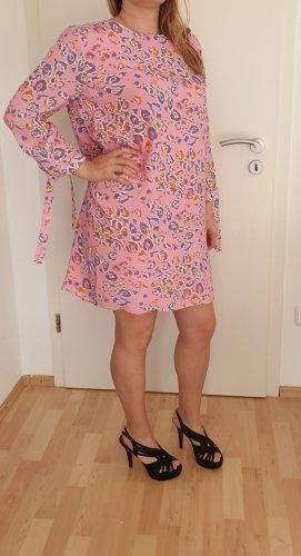 Rich & Royal Kleid Gr.36/S,  Animalprint rosa