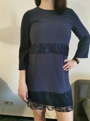 Rich & Royal Mini vestido azul oscuro