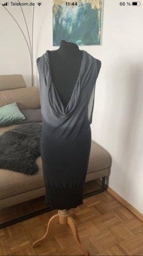 Rich & Royal Kleid Gr 38 grau schwarz