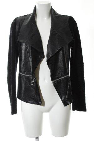 Rich & Royal jacke schwarz-silberfarben Casual-Look