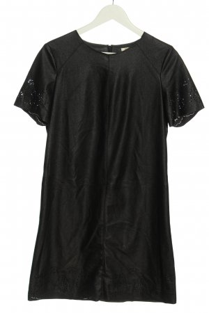 Rich & Royal Faux Leather Dress black elegant