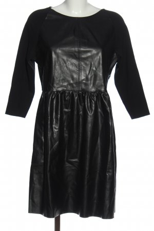 Rich & Royal Faux Leather Dress black casual look