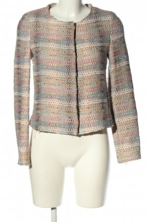 Rich & Royal Kurz-Blazer blau-creme Farbverlauf Business-Look