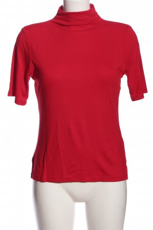 Rich & Royal Kurzarm-Bluse rot Casual-Look
