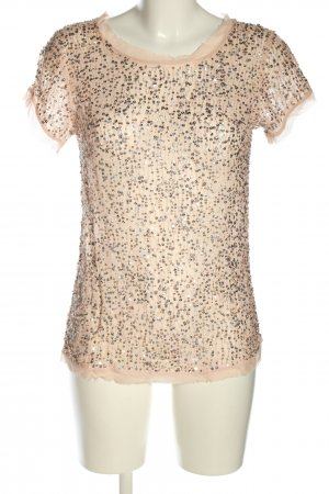 Rich & Royal Kurzarm-Bluse pink Casual-Look
