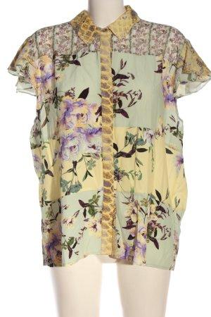 Rich & Royal Camisa de manga corta estampado floral elegante