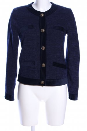 Rich & Royal Kurzjacke blau meliert Elegant