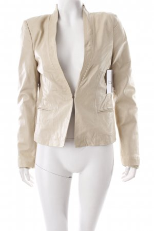 Rich & Royal Kurzjacke hellbeige Eleganz-Look