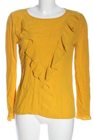 Rich & Royal Langarm-Bluse hellorange Casual-Look