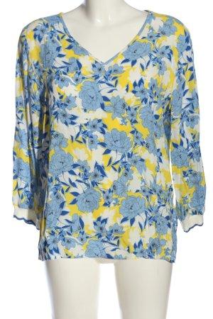 Rich & Royal Langarm-Bluse Allover-Druck Elegant
