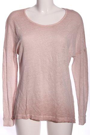 Rich & Royal Langarm-Bluse pink Casual-Look
