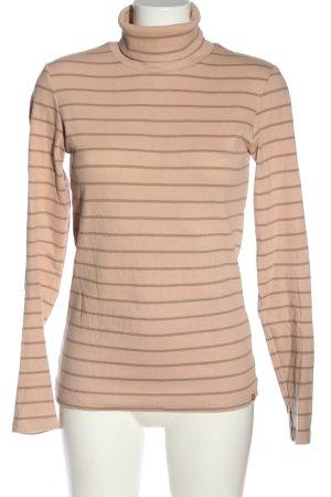 Rich & Royal Langarm-Bluse pink-wollweiß Streifenmuster Casual-Look