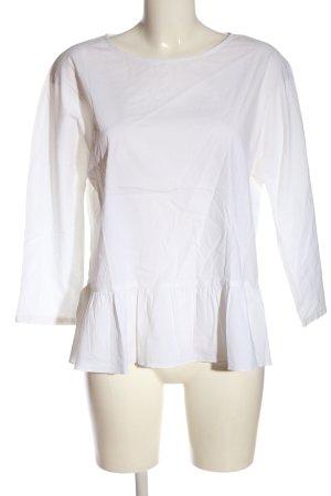 Rich & Royal Langarm-Bluse weiß Casual-Look