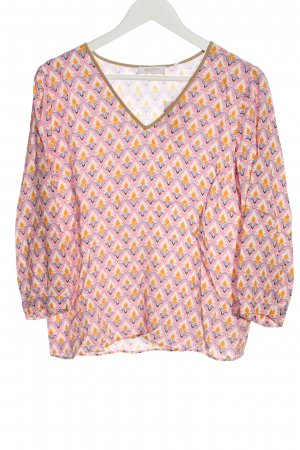 Rich & Royal Long Sleeve Blouse abstract pattern casual look