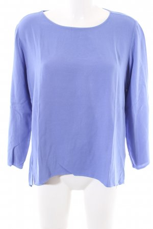 Rich & Royal Langarm-Bluse blau Casual-Look