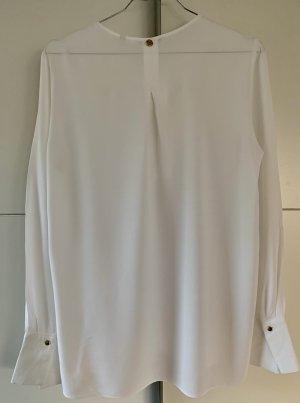 Rich & Royal Langarm-Bluse weiß