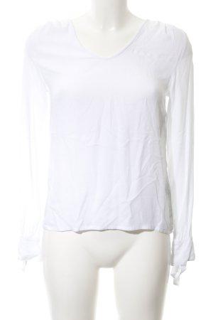 Rich & Royal Langarm-Bluse weiß Elegant