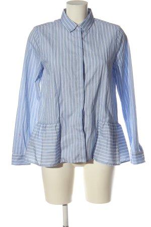 Rich & Royal Camicia a maniche lunghe blu-bianco motivo a righe elegante