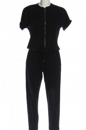 Rich & Royal Langer Jumpsuit noir élégant
