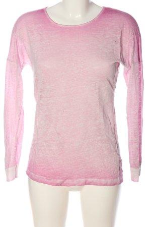 Rich & Royal Longsleeve pink meliert Casual-Look