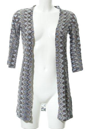 Rich & Royal Longstrickweste mehrfarbig extravaganter Stil