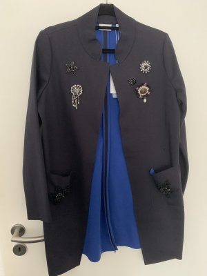 Rich & Royal Long Jacket dark blue-blue