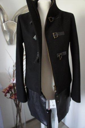 RICH ROYAL Mantel Größe 34 schwarz