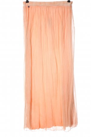 Rich & Royal Falda larga nude Viscosa