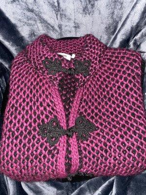 RICH&ROYAL MEGA KUSCH/ nach !!Die Strickjacke kommt aus Italien und es steht die ital.l