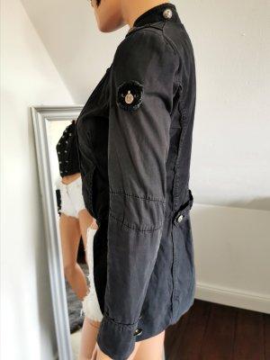 Rich & Royal Marynarka jeansowa ciemnoniebieski
