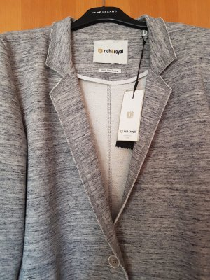 Rich & Royal Abrigo de invierno gris claro-gris