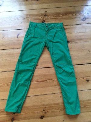 Rich&Royal Pepper Gabardine Hose in grün Gr. 29 inch - € 129