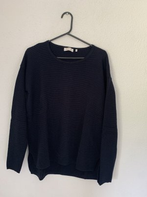 Rich & Royal Knitted Sweater dark blue