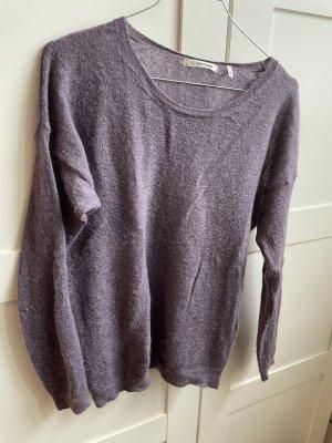 Rich & Royal Fine Knit Jumper grey lilac
