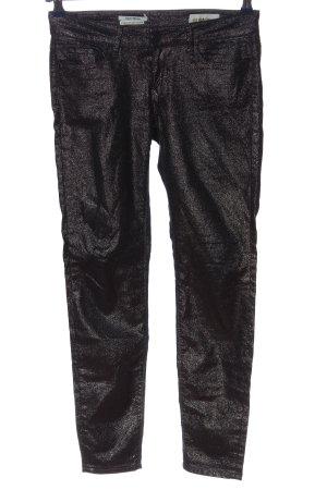 Rich & Royal Drainpipe Trousers black casual look