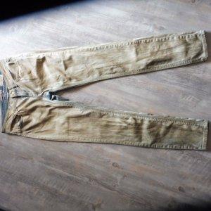 Rich & Royal Drainpipe Trousers multicolored cotton